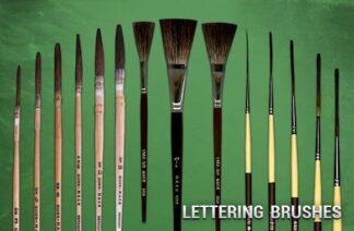 Lettering Brushes