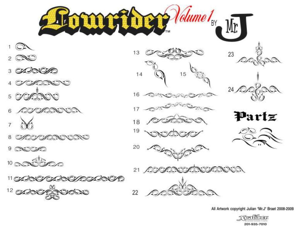 LOWRIDERZ-VOL1-CATALOG