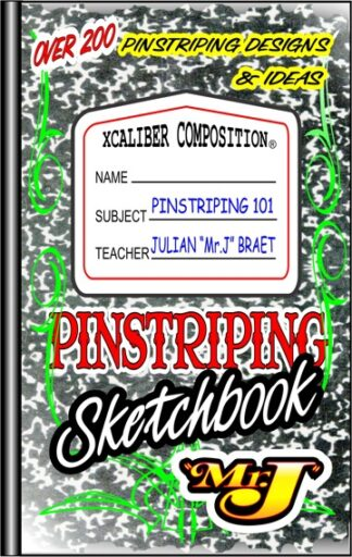 Pinstriping Sketchbook