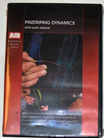 Kustom Pinstriping Dynamics with Gary Jensen DVD