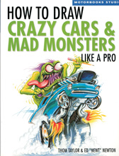 How to Draw Crazy Cars and Monsters