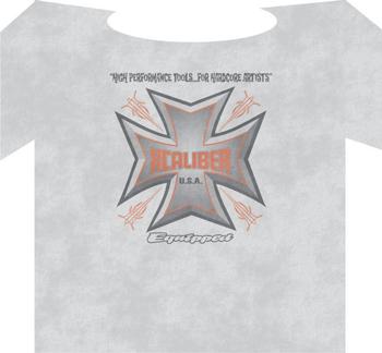 Xcaliber USA T-shirt- Ash
