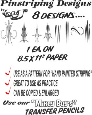 PINSTRIPE DESIGNS ON PAPER FOR WEB